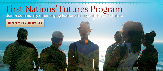Apply by May 31 for the First Nations' Futures Program