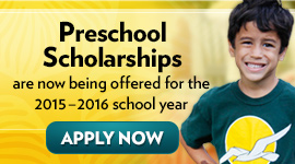 Apply by April 30th for need-based preschool scholarships