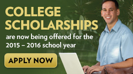 Apply for need- and merit-based college scholarships