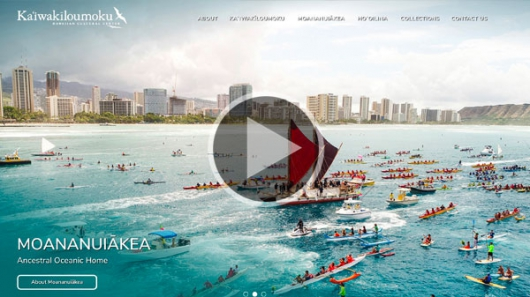 New Ka'iwakīloumoku website: A portal to ancestral knowledge and indigenous cultures of the Pacific